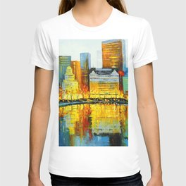 Plaza Central Park Hotel in New York T-shirt