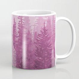 My Misty Secret Forest - magenta Coffee Mug