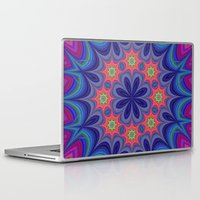 kaleidoscope Laptop & iPad Skins featuring Kaleidoscope by David Zydd