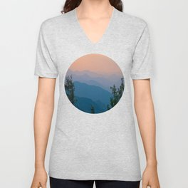 Complementary Mountains Unisex V-Neck