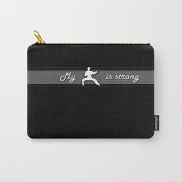 Cyber Kung Fu Laptop Skin Carry-All Pouch