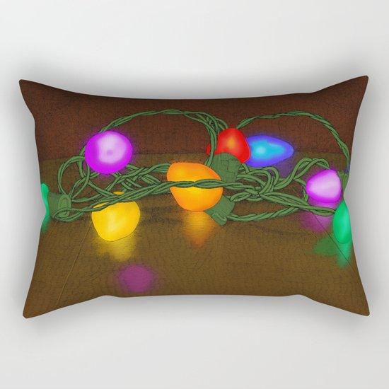 All Lit Up Rectangular Pillow