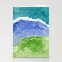 salt water Stationery Cards featuring Salt Water by Beth Thompson