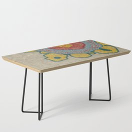 Growing - Pinus 1 - plant cell embroidery Coffee Table