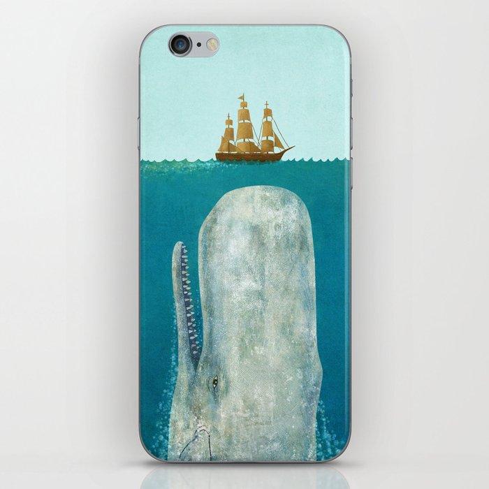 The Whale iPhone Skin