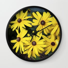 Garden Gold - Rudbeckia Wall Clock