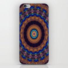 Peacock Pinwheel iPhone & iPod Skin