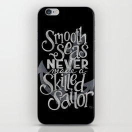 Smooth Seas iPhone Skin