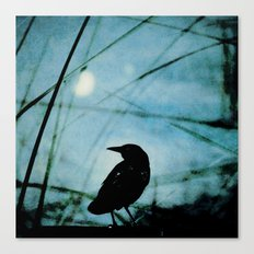 The Raven and the Orb Canvas Print