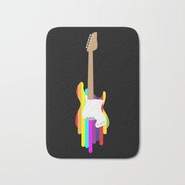 Colorful Guitar | Retro Musician Bath Mat