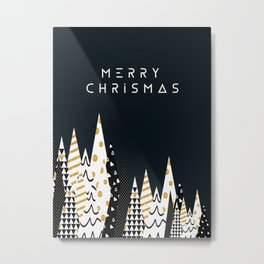merry chrismas Metal Print