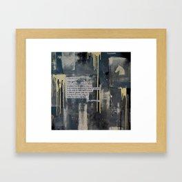The Duty Full Rise Framed Art Print