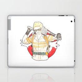 Jillian Holtzmann of Ghostbusters Fan Art Laptop & iPad Skin