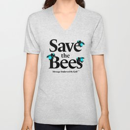 SAVE THE BEES - GOLF WANG Unisex V-Neck