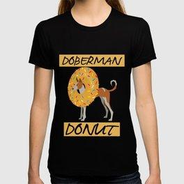 Donut Doberman T-shirt