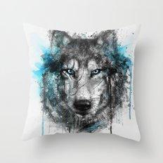 Alpha. Throw Pillow