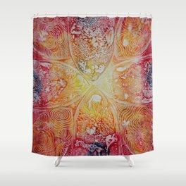 Heat Radiation Shower Curtain