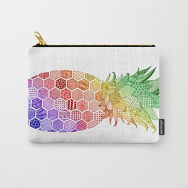 Pineapple. Multi-Colour Version. Carry-All Pouch