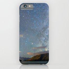 New Zealand Southern Hemisphere Skies Over Lake Wakatipu iPhone Case