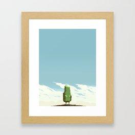 Little Rock Framed Art Print