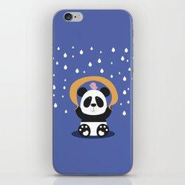 Panda Bear & Bird Friendship iPhone Skin
