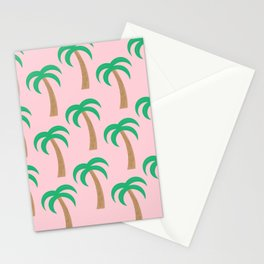 Palm Pattern Stationery Cards