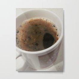 Delicious Caffeine Metal Print