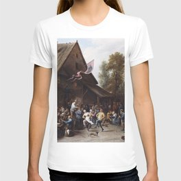 David Teniers The Younger - Kermis On St Georges Day T-shirt