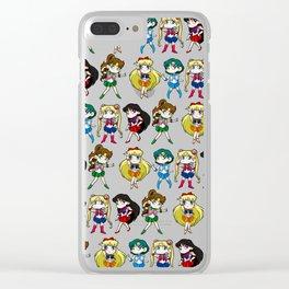 Sailor Senshi Clear iPhone Case