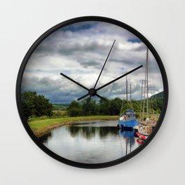 Crinan Canal Wall Clock