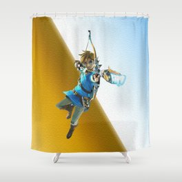 The legend of Zelda(Archer) Shower Curtain