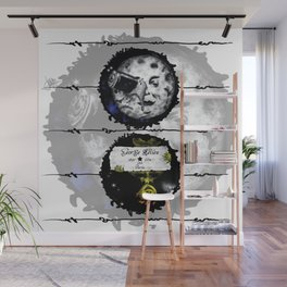 Trip to the moon Wall Mural