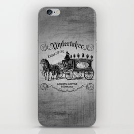 Vintage Style Undertaker iPhone Skin