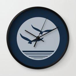Sea Birds Wall Clock
