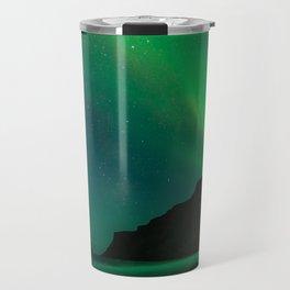 Night with the Northern Lights Travel Mug