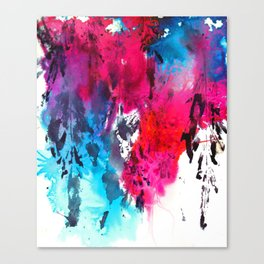 The Horror Melts Away Canvas Print