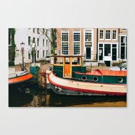 Nieuwmarkt - Amsterdam, The Netherlands - #10 Canvas Print