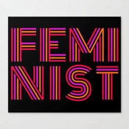 FEM·I·NIST Canvas Print