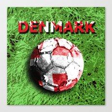 Old football (Denmark) Canvas Print