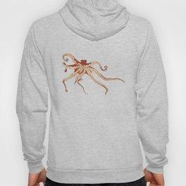 Rad Orange Octopus Hoody