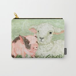 Lamb and Piglet Carry-All Pouch