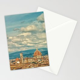 Duomo in Florence Skyline Stationery Cards