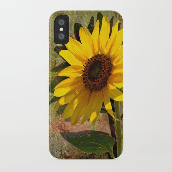 SUNFLOWERS, Double Sunshine iPhone Case