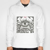 all seeing eye Hoodies featuring All seeing eye by Andready