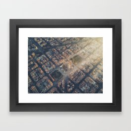 Let there be light! Framed Art Print