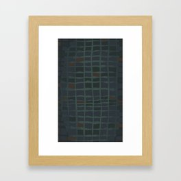 Black Crappie Framed Art Print