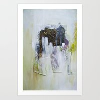 entourage Art Prints featuring Entourage by Ekaterina Kashtanova