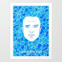 jesse pinkman Art Prints featuring Jesse Pinkman by Matt Ferguson