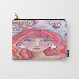 Red Haired Girl Carry-All Pouch
