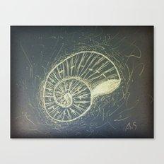 The Sea Shell Canvas Print